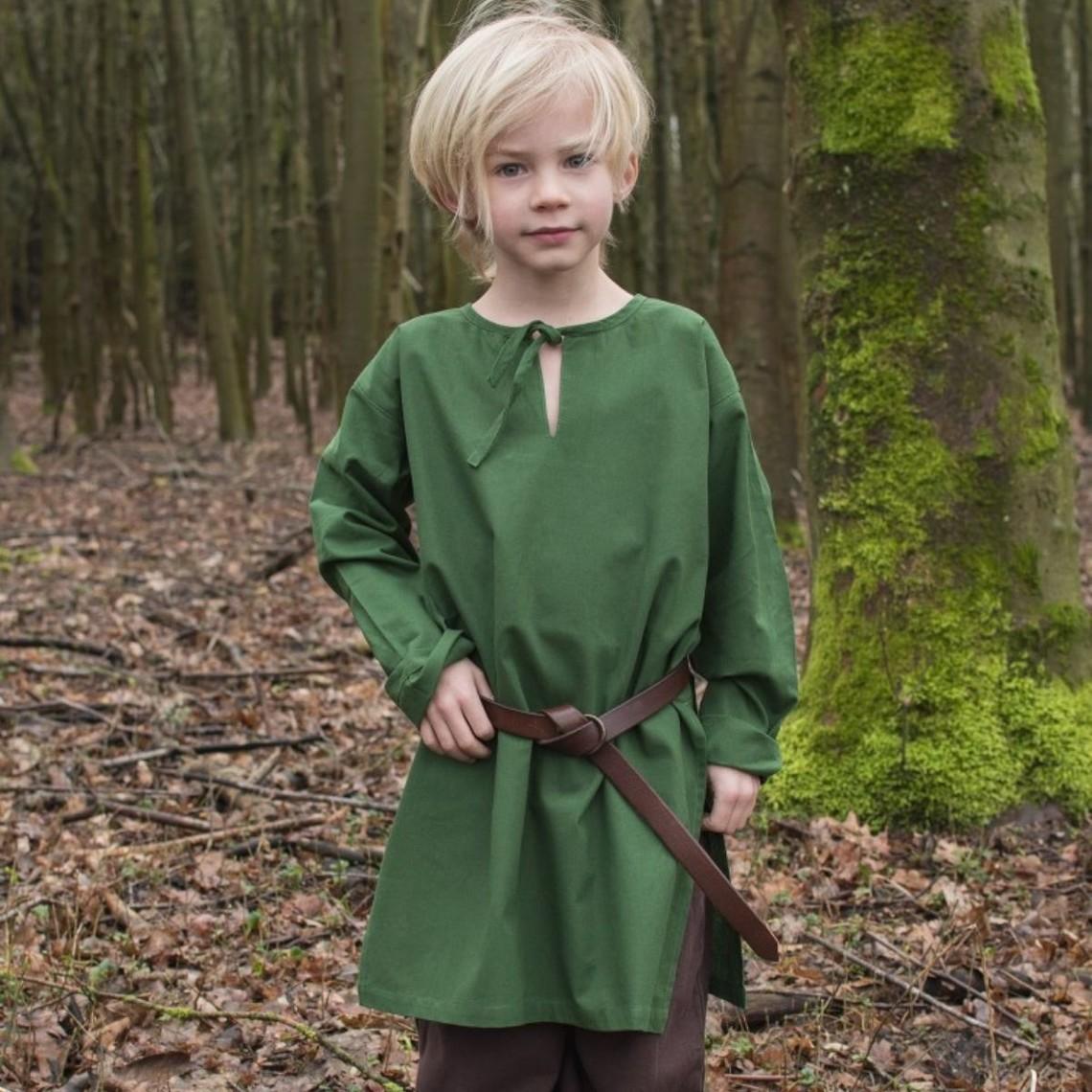 Børn tunika Athelstan, grøn