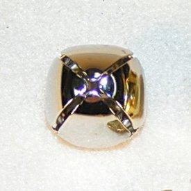 Medieval campana M, argentado