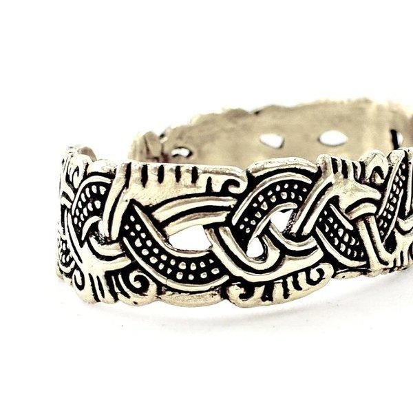 Viking armband Isle of Man, försilvrade