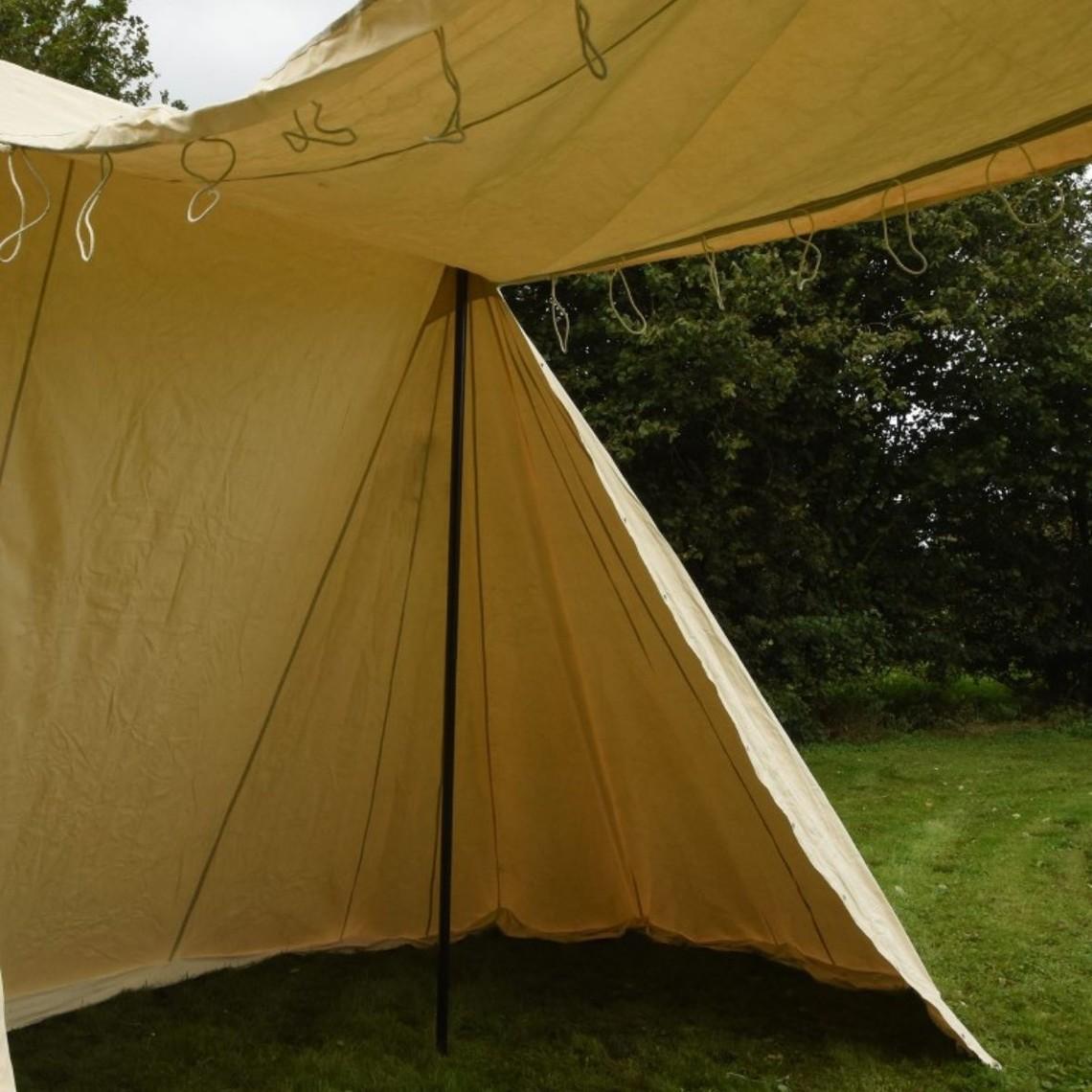 Saxon tenda mercato 4 x 6 m