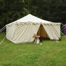 Middeleeuwse tent Herold 5 x 5 m
