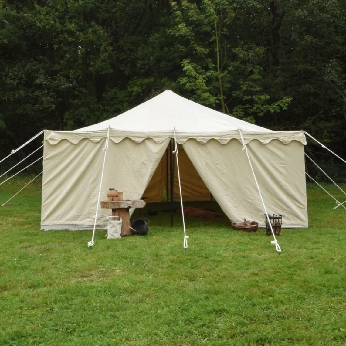 Średniowieczny namiot Herold, 5 x 5 m