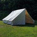 Canvas army tent 3 x 3 m