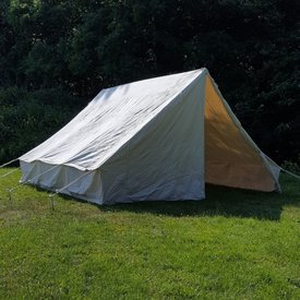 Canvas legertent 3 x 3 m