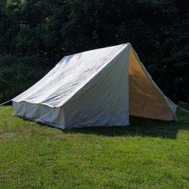 Lærred hær telt 3 x 3 m