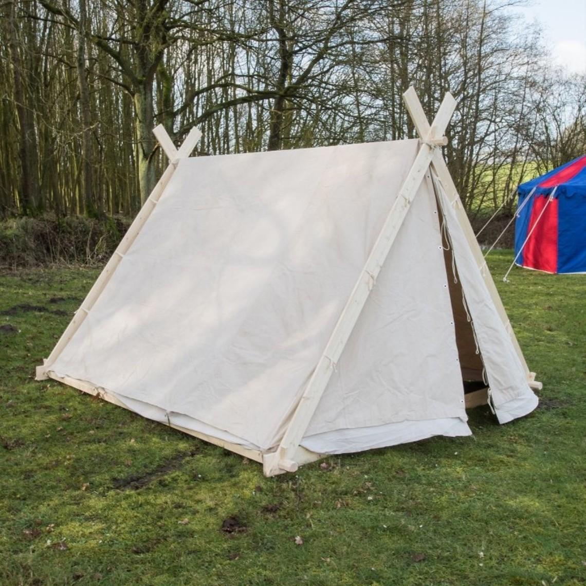 Vikingtält 2 x 2,3 x 1,8 m utan ram, 350 g