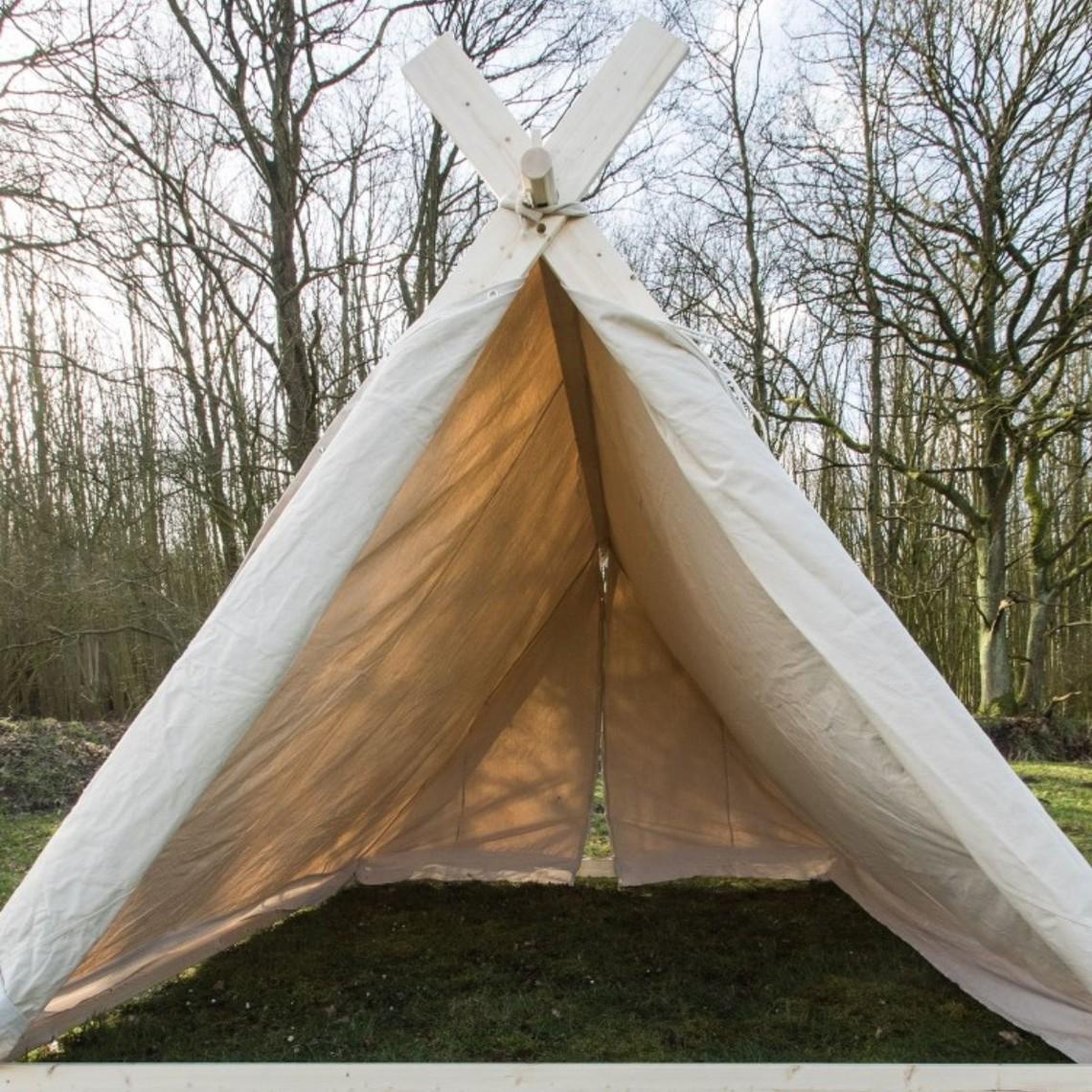 Tenda vichinga 2 x 2,3 x 1,8 m senza telaio, 350 grammi