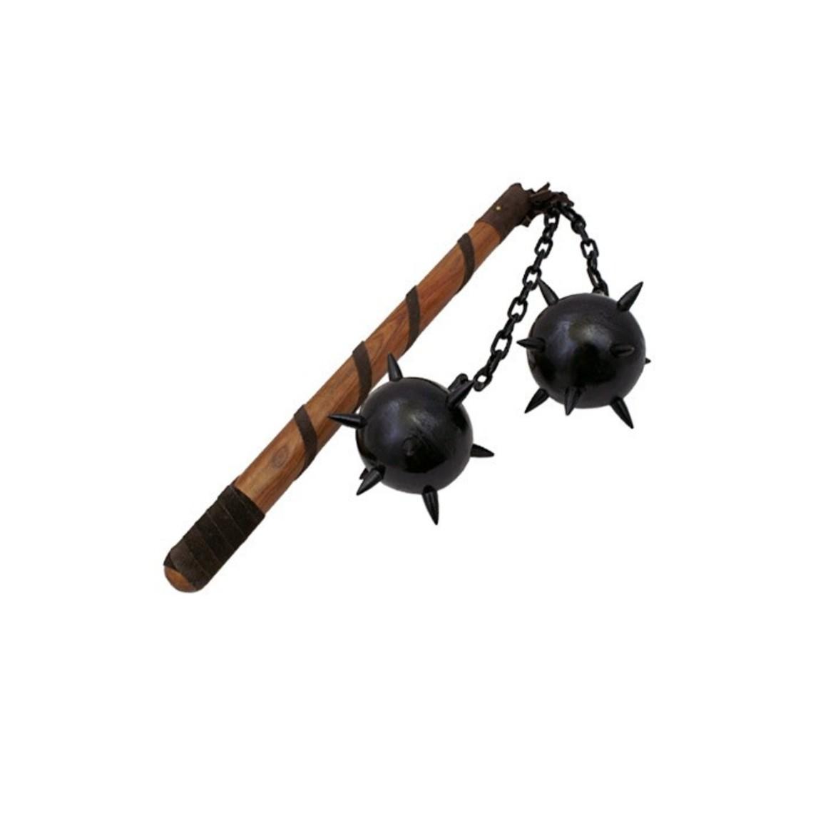 Fléau d'armes avec deux balles