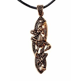 Celtic jewel Book of Kells, bronze