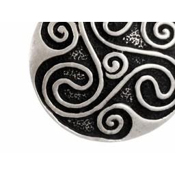 Amulet Celtic trisquelion, posrebrzane