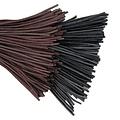 Leren veter bruin,100 cm