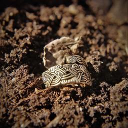 Vichingo Anello Isola di Man, bronzo