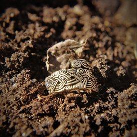 Anillo de Viking Isla de Man, bronce