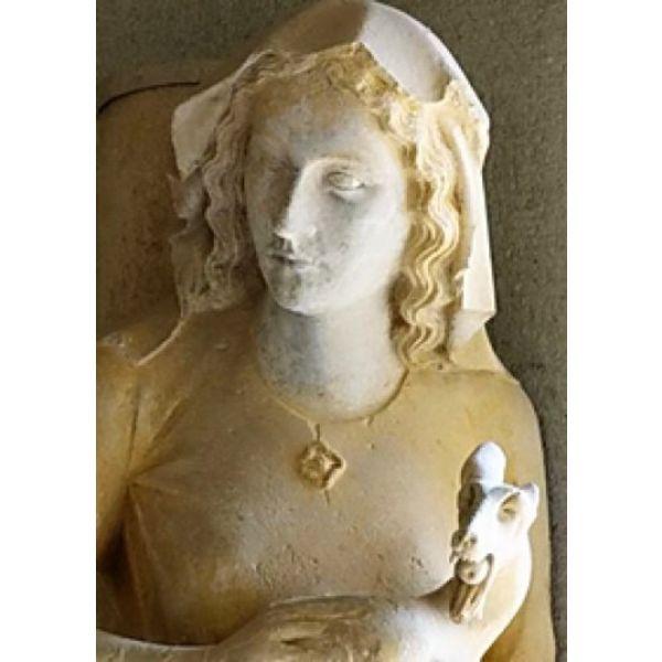 Medieval brooch Eva of Reims