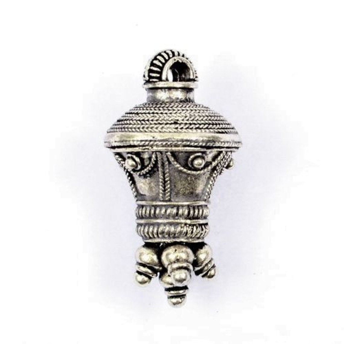 Pendentif berlock germanique, argenté