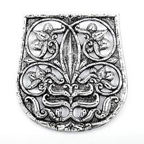 decorazione del sacchetto secolo 10 ° Karos-Eperjesszög, argentato