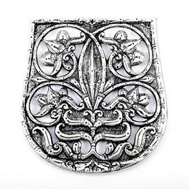 10: e århundradet väska dekoration Karos-Eperjesszög, försilvrade