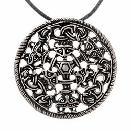 Viking Amulett Bjølstad, versilbert