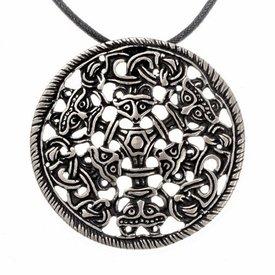 Viking amulet Bjølstad, forsølvede