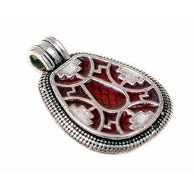 Faversham jewel, silvered