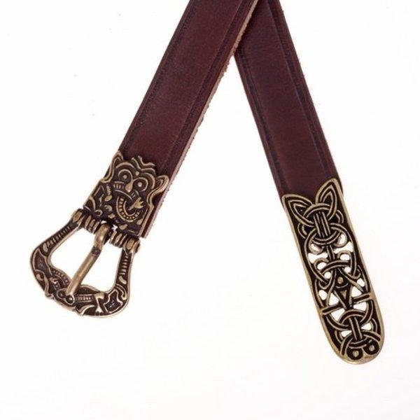 cintura di Birka, nero, ottone