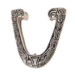 Chape für Viking Schwertscheide, Haithabu, versilbert