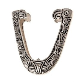 Chape for Viking sword scabbard, Haithabu, silvered