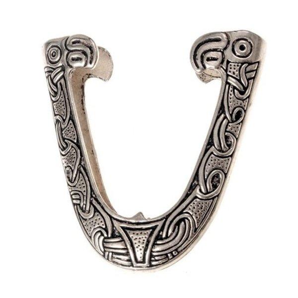CHAPE for Viking sværd skede, Hedeby, forsølvede
