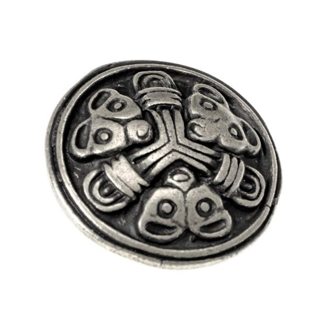 De Viking Conjunto Accesorios Borre de 5 piezas de la correa, argentado