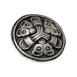 Viking bälte passar Borre uppsättning av 5 st, försilvrade