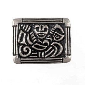 Viking cintura sagomata Adelsö, argentato