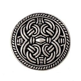 birka estilo de Viking anillo de Borre, plateado