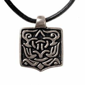 joya árabe de Viking, plateado