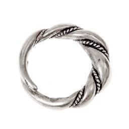 Viking pierścień Birka, posrebrzane