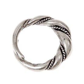 Vichinga Birka anello, argentato