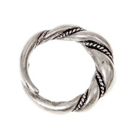 Viking ring Birka, silvered