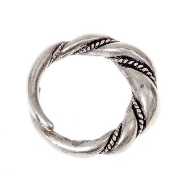 Viking Ring Birka, versilbert