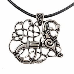 Viking jewel Lindholm Hoeje, silvered
