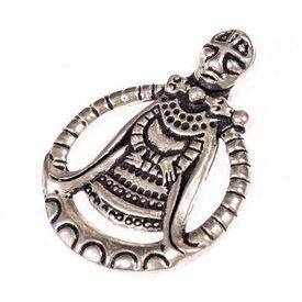 Viking Amulett Freya, versilbert