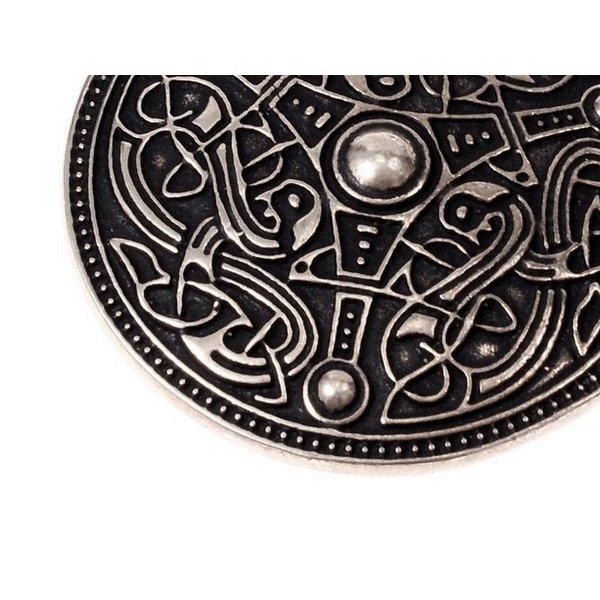 Oseberg Vikingamulet, verzilverd