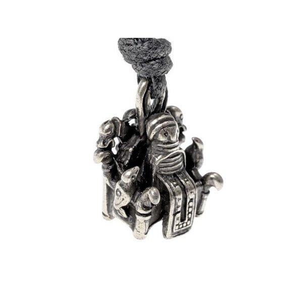 Odin jewel Lejre, silvered