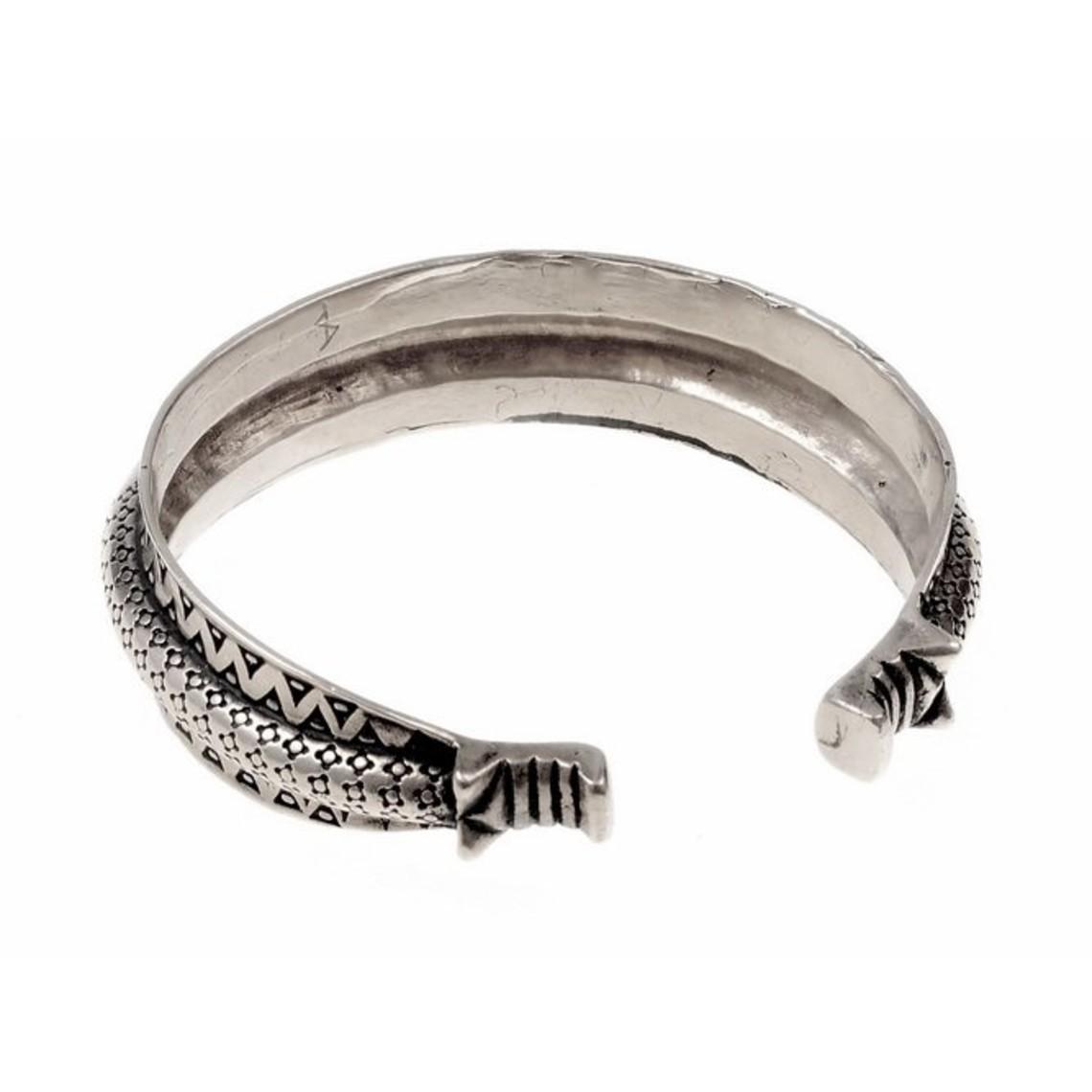 10de eeuwse Rusvik armband, verzilverd
