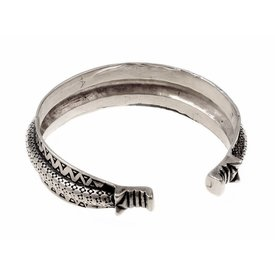 10ème siècle bracelet Rusvik, argentait