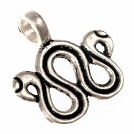 Viking jewelry divider, silvered