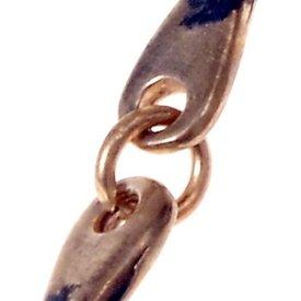 anello chiuso, XS, argentato