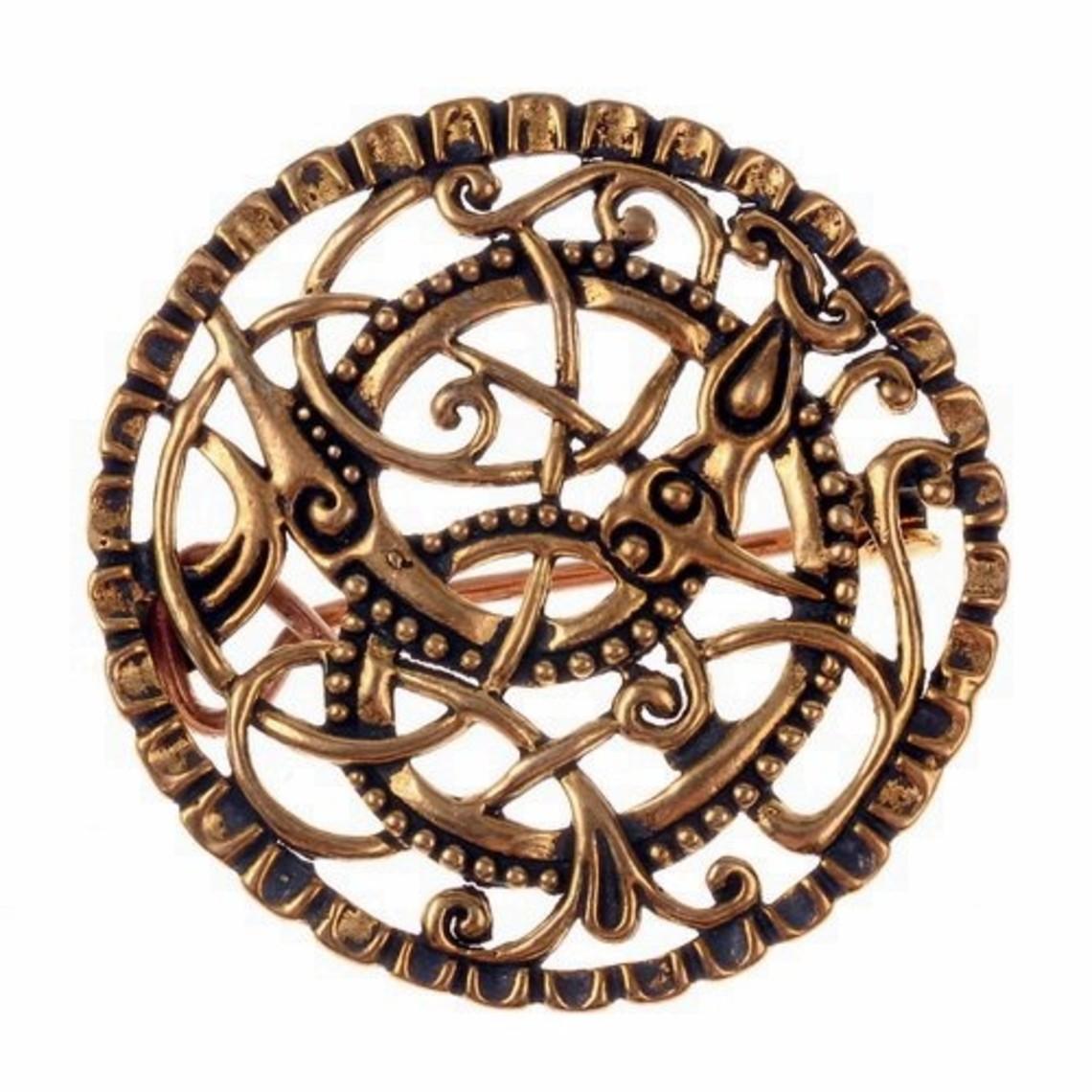 Pitney broche, bronce