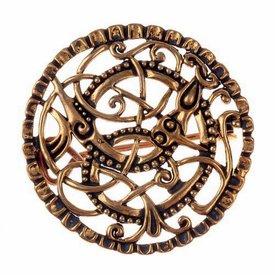 Pitney brooch, bronze
