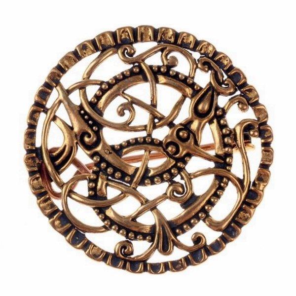 Pitney broche, bronze