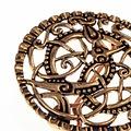 Broche Pitney, bronze
