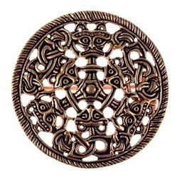 Borrestil Scheibe Fibel, Bronze